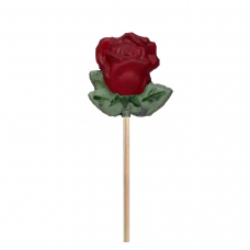 Rosa de Xocolata Llet -color vermell