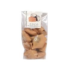Barquillo relleno de chocolate y coco en bolsa