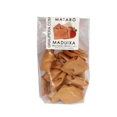 Neula farcida de xocolata i maduixes del Maresme bossa