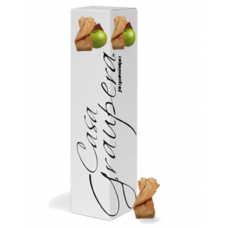 Neula farcida de xocolata amb llet i poma de Girona