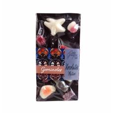 Xocolata negra i gominoles