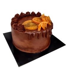 Pastís de Xocolata Negra amb Taronja
