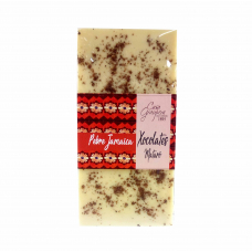 Xocolata blanca 28% amb pebre de Jamaica