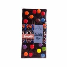 Xocolata negra 53% i confits de xocolata
