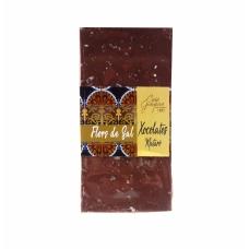 Xocolata amb llet 36% i Flor de sal