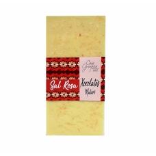 Xocolata blanca 28% amb Sal Rosa
